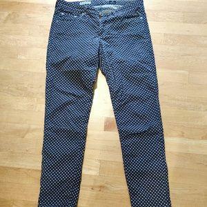 AG polka dot pants